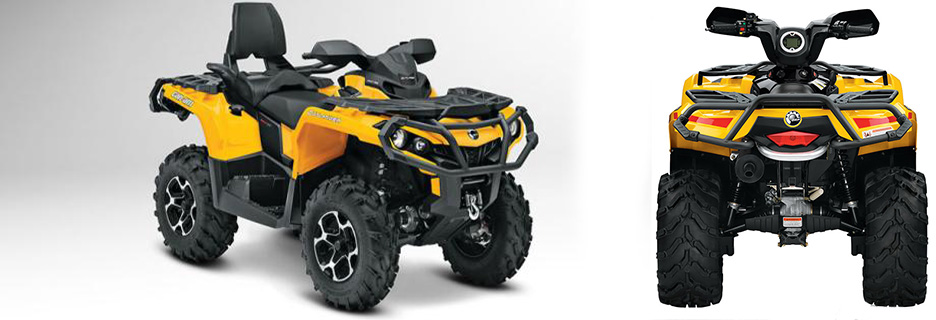 Rent a Quads bike Kos Kardamena CanAm